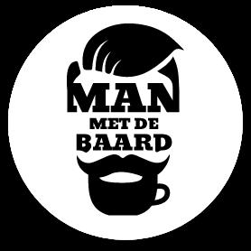 MAN MET DE BAARD Logo